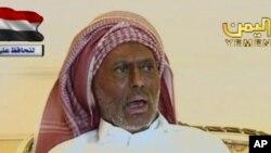 Ali Abdullah Saleh apparaît dans une vidéo diffusée le 7 juillet 2011.