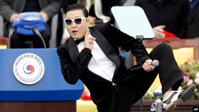 South Korean rapper, Psy