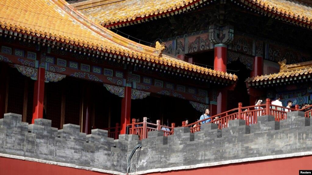 北京故宮一角,故宮又名紫禁城,是中國帝制時代的皇宮。