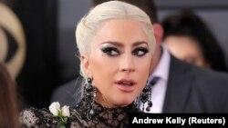 Lady Gaga en la 60 entrega de los Premios Grammy. Madison Square Garden, Nueva York, 28-1-18.