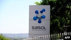 Le logo de Sasol à Johannesburg, le 22 septembre 2010.