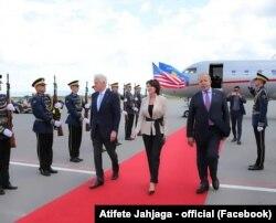 Dolazak Clintona na Kosovo