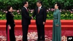Ông Quang tới thăm quốc gia đông dân nhất thế giới tới ngày 15/5 để dự hội nghị thượng đỉnh Vành đai và Con đường.