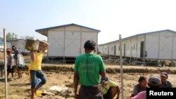 Près de 700.000 Rohingyas ont fui la Birmanie vers le Bangladesh voisin depuis des violences en 2017.