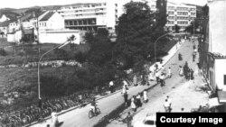 Banja Luka nekad imala 40.000 bicikala (Fotografija preuzeta sa FB stranice 'Banja Luka iz starih albuma')