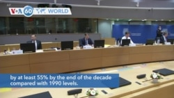 VOA60 Addunyaa - EU Leaders Agree to Reduce Emissions After All-night Talks