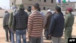 Obuka opozicionih boraca u Libiji