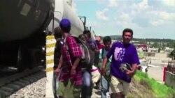 중미 이민자들 생존 위한 미국행