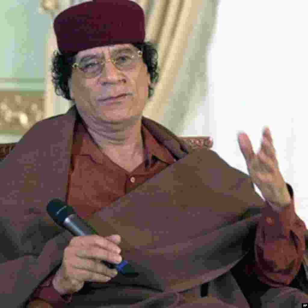 عکس هایی از معمر القذافی