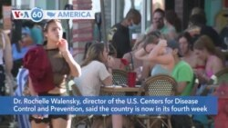 VOA60 America - CDC says U.S.is now in its fourth week of rising COVID-19 infections