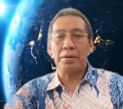 Guru Besar Psikologi Politik Universitas Indonesia, Prof Hamdi Muluk, dalam tangkapan layar.
