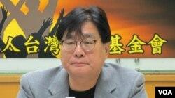 台灣關懷中國人權聯盟理事長楊憲宏。(美國之音張永泰拍攝)