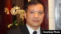 Luật sư, nhà hoạt động Nguyễn Văn Đài (ảnh tư liệu, 2013)