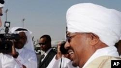 Le président soudanais Omar el-Béchir, 22 février 2010.