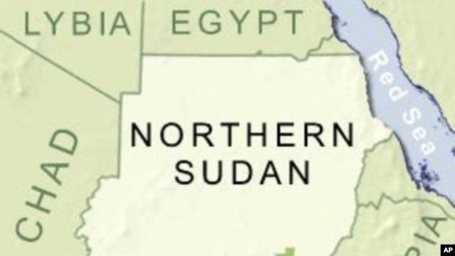 Map of Southern Sudan, Sudan