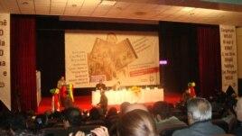 Wêneyek ji konferanseke berê ya ser çand û edebîyata Kurdî