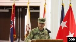 美国陆军中将中曾根2017年8月出席一场活动(美国陆军照片)