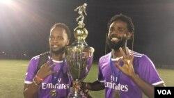 Goolii afran Oromo United Leenca DC-tin moote Fu'aad Ibraahimitit galcheef