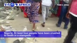 VOA60 Africa - Deadly Stampede in Nigeria at Political Rally Days Ahead of Election