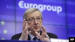 Chủ tịch khối các nước sử dụng đồng Euro Jean-Claude Juncker