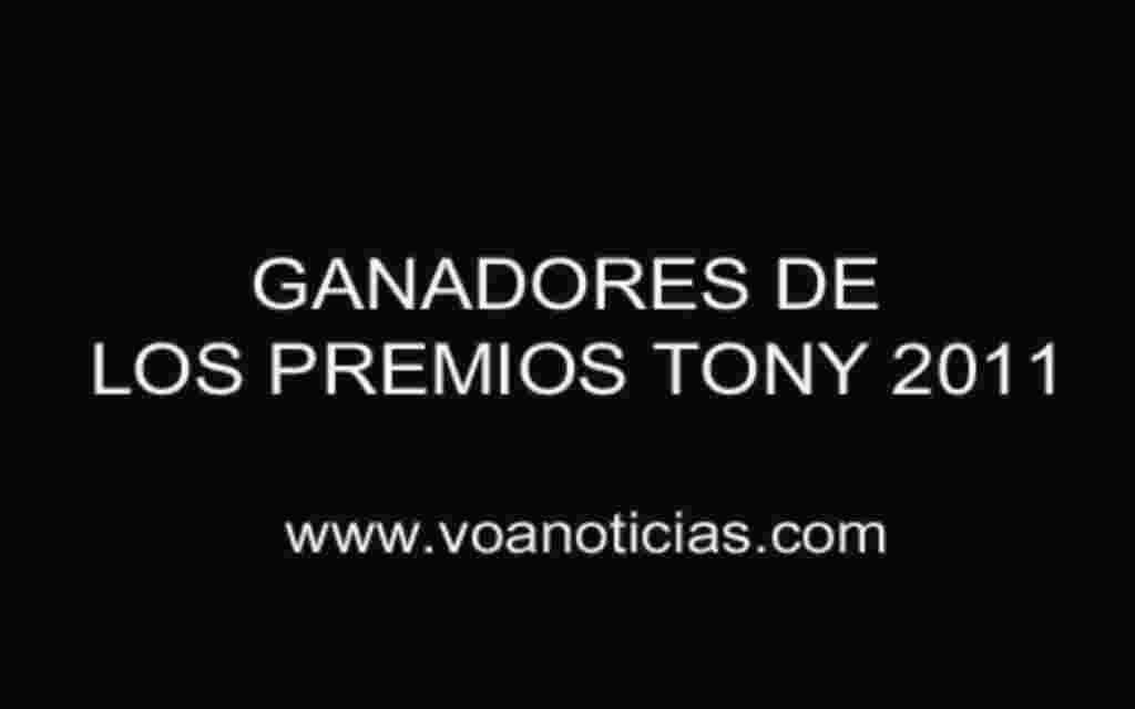 Ganadores de los Premios Tony en Nueva York