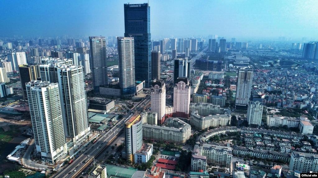 Vietnam Economy- Hà Nội Screenshot from VGP (Vietnamese Government Portal)