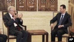 Susret Lakdara Brahimija i Bašara al-Asada u Damasku