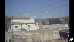 Compound where Osama bin Laden was killed in Abbottabad, Pakistan, May 3, 2011.