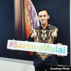 Guru SMA Global Mandiri Cibubur Arif Rakhman Hakim. (Foto: dokumentasi Arif RH)
