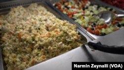 Gurmanoff marketində paytaxt salatı