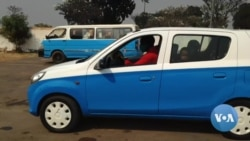 COVID-19: Associação desinfecta táxis de graça em Malanje