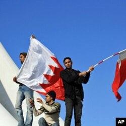 Des manifestants à Barhein