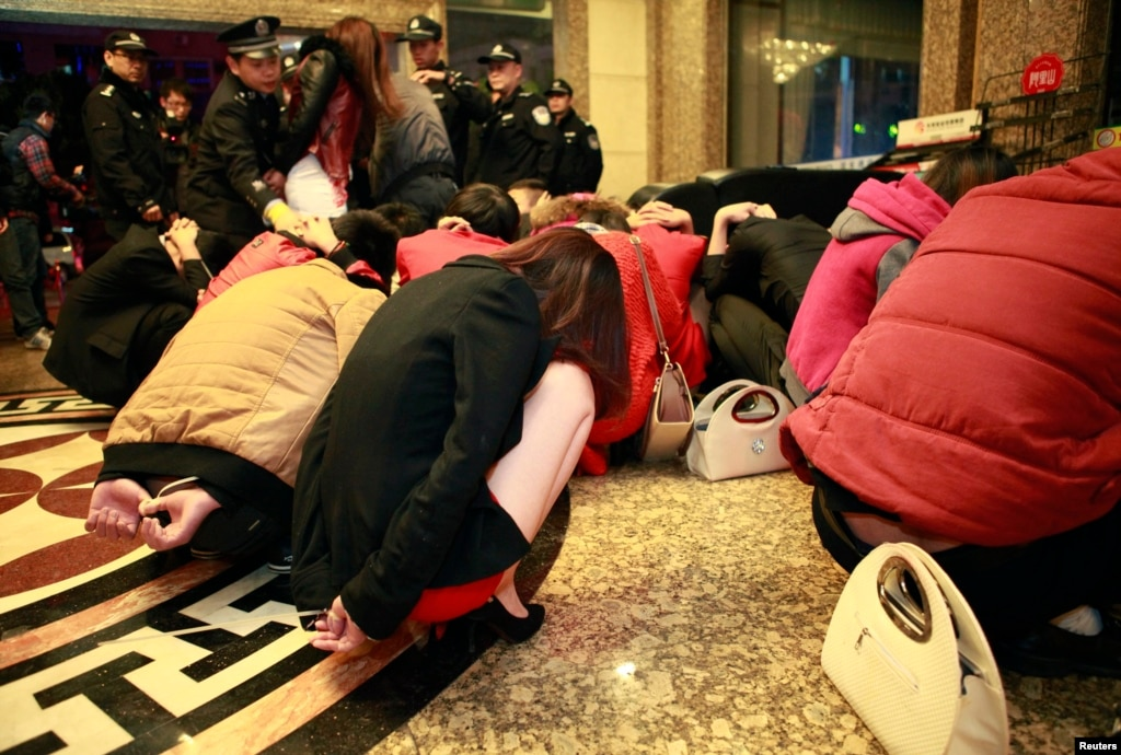 china launches crackdown on prostitution in sin city