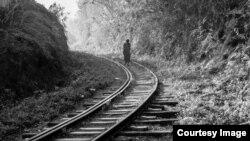 Photo d'archives - Des rails.