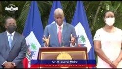 Prezidan Jovenel Moise lanse apel pou l mande solidarite kont ensekirie a