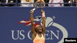 US Open အမ်ဳိးသမီးတင္းနစ္ Sloane Stephens ဗုိလ္စြဲ