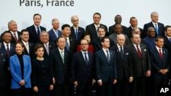 Globalni lideri na klimatskoj konferenciji u Parizu