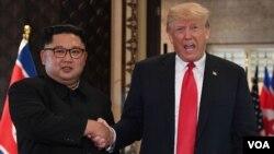 Shugaba Trump da Shugaban Korea ta kudu