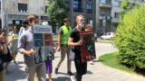 Obeležavanje godišnjice građanskog protesta u centru Beograda