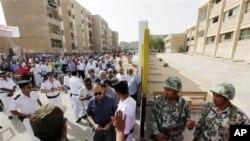 埃及選民星期三排長龍投票選舉總統