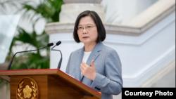 ထုိင္ဝမ္သမၼတ Tsai ing-wen. (ၾသဂုတ္ ၂၈၊ ၂၀၂၀)