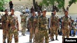 Ciidamada Ethiopia oo jooga Muqdisho (File Photo)