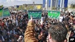 阿富汗民眾抗議焚燒古蘭經