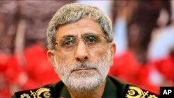 """伊朗""""圣城军""""副指挥官伊斯梅尔·卡尼(Esmail Ghaani)少将1月3日被任命为伊朗革命卫队""""圣城军""""的新指挥官。"""