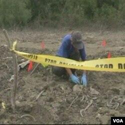 Pažljivo otkopavanje olakšava identifikaciju žrtava