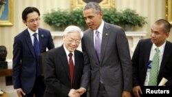 Chuyến thăm Mỹ của Tổng Bí thư Nguyễn Phú Trọng và đón sự tiếp trọng thị của chính quyền Mỹ được xem là một cột mốc trong tiến trình chuyển trục của Việt Nam.