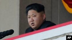 朝鲜领导人金正恩。