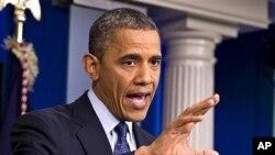 바락 오바마 미 대통령 (자료사진).