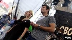 Евгения Чирикова и Дмитрий Гудков