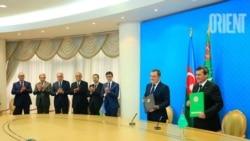 Azərbaycan və Türkəminstan arasında anlaşma memerandumu imzalanıb